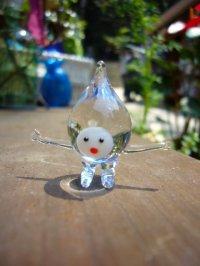 水の精 クリア ガラス細工 雑貨 置物