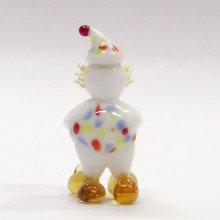 他の写真2: 赤鼻の水玉ピエロ ガラス細工 雑貨 置物