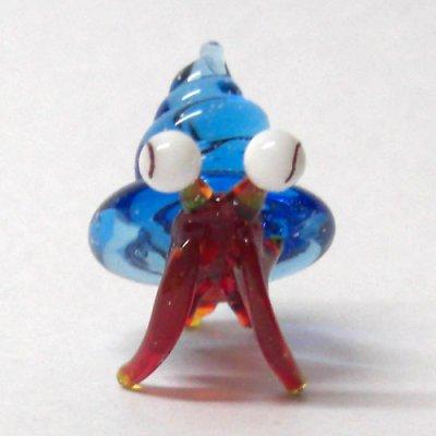画像1: 江の島のヤドカリちゃん ノーマル 湘南の海 ガラス細工 雑貨 置物