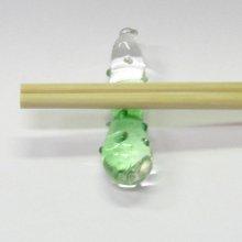 他の写真2: ガラスの箸置き<5個1,500円セット対応>キュウリ ガラス細工 雑貨 置物