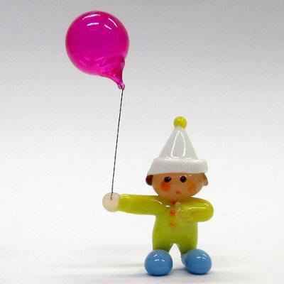 画像1: フーセン坊や 世界の子どもたち ガラス細工 雑貨 置物