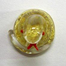 他の写真2: 金箔十二支 巳 干支 ガラス細工 雑貨 置物
