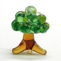 幸福の木 ガラス細工 雑貨 置物