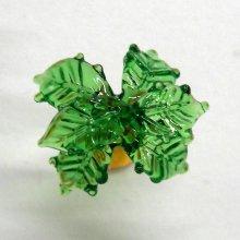 他の写真2: ねじりヤシの木 花 ガラス細工 雑貨 置物