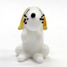 他の写真2: ビーグル L 犬 ガラス細工 雑貨 置物