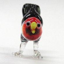 他の写真1: カッコウ 鳥 ガラス細工 雑貨 置物