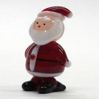 サンタクロース L クリスマス ガラス細工 雑貨 置物