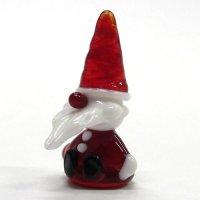 お座りサンタさん S クリスマス ガラス細工 雑貨 置物