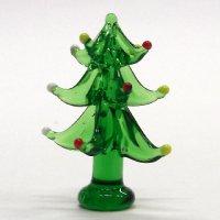 イルミネーションツリー 5.0cm 星なし クリスマス ガラス細工 雑貨 置物