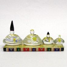 他の写真2: ひな人形(雛人形) 都雛 S ひなまつり ガラス細工 雑貨 置物