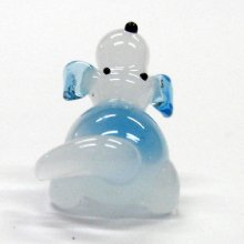 他の写真2: ビーグル犬 伏せ ガラス細工 雑貨 置物