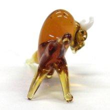 他の写真3: 野牛 S ブラウン 干支 ガラス細工 雑貨 置物
