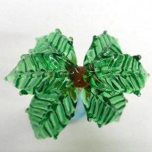 他の写真3: ヤシの木 M ブラウン 花 ガラス細工 雑貨 置物
