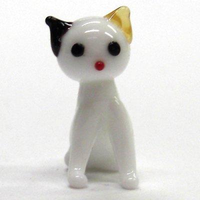画像3: 日本ネコ 親子4匹セット ガラス細工 雑貨 置物
