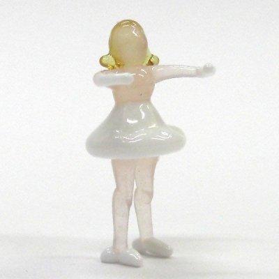 画像1: バレエダンサー 回転ポーズ ガラス細工 雑貨 置物