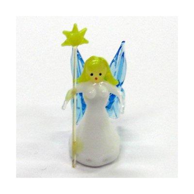 画像1: 女神さま メルヘン ガラス細工 雑貨 置物