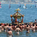 【湘南・江の島から】 12日(土)、13日(日)は『江の島天王祭』です ~その1~