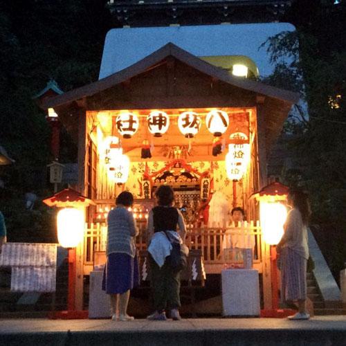 【湘南・江の島から】江の島天王祭が始まりました!