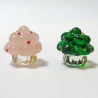 ひな飾り(雛飾り) 桜・橘 L ひなまつり ガラス細工 雑貨 置物