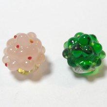 他の写真1: ひな飾り(雛飾り) 桜・橘 L ひなまつり ガラス細工 雑貨 置物