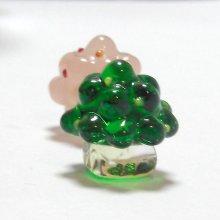 他の写真2: ひな飾り(雛飾り) 桜・橘 L ひなまつり ガラス細工 雑貨 置物
