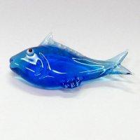 ガラスの箸置き<5個1,500円セット対応>カツオ ガラス細工 雑貨 置物