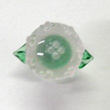 他の写真1: あじさい ピンク 花 ガラス細工 雑貨 置物