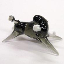 他の写真1: バッファロー ブラック 干支 ガラス細工 雑貨 置物