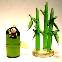 他の写真2: 竹取物語かぐや姫 昔話 ガラス細工 雑貨 置物