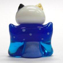 他の写真2: 江の島ミケ 福助ネコ 江の島ネコ ガラス細工 雑貨 置物