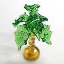 他の写真1: ねじりヤシの木 花 ガラス細工 雑貨 置物