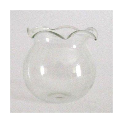 画像1: 金魚鉢 ガラス細工 雑貨 置物