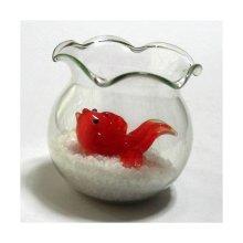 他の写真1: 金魚鉢 ガラス細工 雑貨 置物
