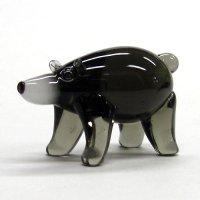 くま(熊) 金太郎クマ ガラス細工 雑貨 置物
