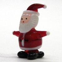 サンタクロース M クリスマス ガラス細工 雑貨 置物
