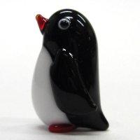 ふっくらペンギン ガラス細工 雑貨 置物
