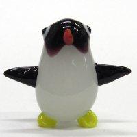 コウテイペンギンの赤ちゃん L ガラス細工 雑貨 置物