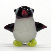 コウテイペンギンの赤ちゃん S ガラス細工 雑貨 置物