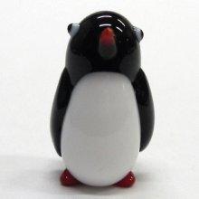 他の写真1: ふっくらペンギン ガラス細工 雑貨 置物