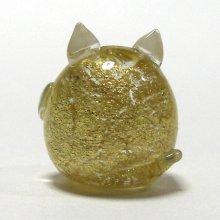 他の写真2: 金箔ねこ 縁起物 ガラス細工 雑貨 置物