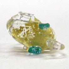 他の写真2: いるか 天使イルカ ゴールド ガラス細工 雑貨 ピアス