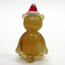 他の写真2: クリスマステディベア クリスマス ガラス細工 雑貨 置物