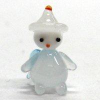 ミニミニ天使 ホワイト メルヘン ガラス細工 雑貨 置物